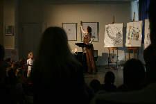 Lesung: Max auf den Bäumen (C) Cassiopeia TheaterVerlag Mierke