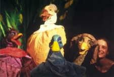 Das hässliche Entlein. Ensemblefoto  - (C) Cassiopeia TheaterVerlag Mierke